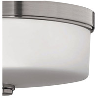 Hinkley 5421BN Signature 3 Light 17 inch Brushed Nickel Bath Flush Mount Ceiling Light in Incandescent, Devon alternative photo thumbnail