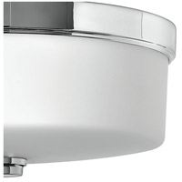 Hinkley 5421CM Signature 3 Light 17 inch Chrome Bath Flush Mount Ceiling Light in Incandescent, Devon alternative photo thumbnail