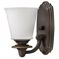 Hinkley 54260OB Plymouth 1 Light 6 inch Olde Bronze Bath Vanity Wall Light photo thumbnail