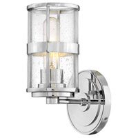 Hinkley 5430CM Noah 1 Light 5 inch Chrome Bath Sconce Wall Light