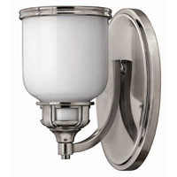 Hinkley Lighting Carina 1 Light Bath Vanity in Polished Antique Nickel 5430PL
