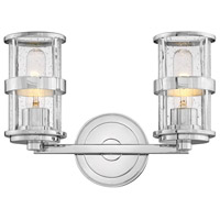 Noah 2 Light 14 inch Chrome Bath Wall Light