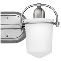 Hinkley 5442BN Clancy 2 Light 16 inch Brushed Nickel Bath Light Wall Light in Etched Opal alternative photo thumbnail