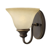 Hinkley 5450AT Cello 1 Light 9 inch Antique Bronze Sconce Wall Light