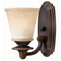 Hinkley Lighting Plymouth 1 Light Bath Vanity in Olde Bronze 5470OB photo thumbnail