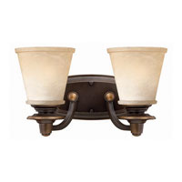 Hinkley Lighting Plymouth 2 Light Bath Vanity in Olde Bronze 5472OB