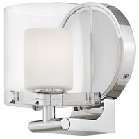 Hinkley 5490CM Rixon 1 Light 6 inch Chrome Bath Sconce Wall Light in G9