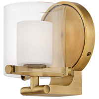 Rixon LED 6 inch Heritage Brass Bath Sconce Wall Light