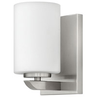 Kyra 1 Light 5 inch Brushed Nickel Bath Sconce Wall Light