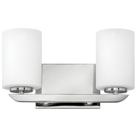 Hinkley 55022PN Kyra 2 Light 14 inch Polished Nickel Bath Light Wall Light