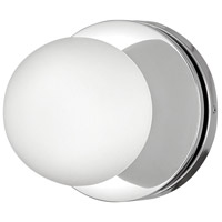 Hinkley 5530CM-LL Marquee LED 7 inch Chrome Bath Light Wall Light