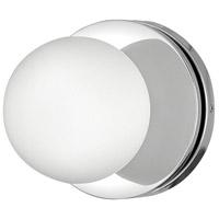 Hinkley 5530CM-LL Marquee LED 7 inch Chrome Bath Light Wall Light
