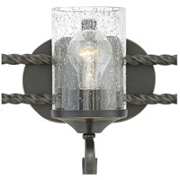 Hinkley 5543OL-CL Casa 3 Light 23 inch Olde Black Bath Light Wall Light in Clear Seedy alternative photo thumbnail
