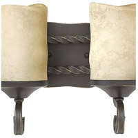 Hinkley 5544OL Casa 4 Light 29 inch Olde Black Bath Light Wall Light in Antique Scavo alternative photo thumbnail
