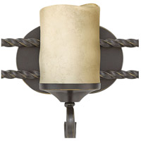 Hinkley 5545OL Casa 5 Light 36 inch Olde Black Bath Light Wall Light in Antique Scavo alternative photo thumbnail