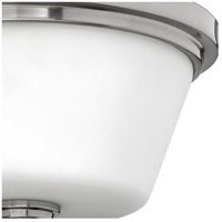 Hinkley 5551BN Signature 2 Light 15 inch Brushed Nickel Bath Flush Mount Ceiling Light, Avon alternative photo thumbnail