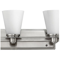 Hinkley 5556BN Avon 6 Light 48 inch Brushed Nickel Bath Light Wall Light in Etched Opal alternative photo thumbnail