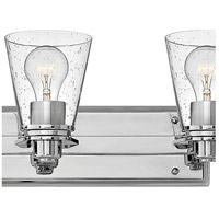 Hinkley 5556CM-CL Avon 6 Light 48 inch Chrome Bath Light Wall Light in Clear Seedy alternative photo thumbnail