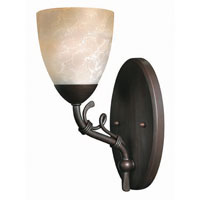 Hinkley Lighting Portofino 1 Light Bath Vanity in Victorian Bronze 5560VZ photo thumbnail