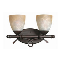 Hinkley Lighting Portofino 2 Light Bath Vanity in Victorian Bronze 5562VZ photo thumbnail