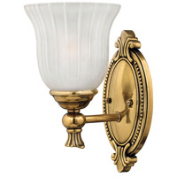 Hinkley 5580BB Francoise 1 Light 6 inch Burnished Brass Bath Sconce Wall Light