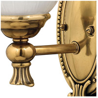 Hinkley 5580BB Francoise 1 Light 6 inch Burnished Brass Bath Sconce Wall Light alternative photo thumbnail