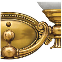 Hinkley 5582BB Francoise 2 Light 15 inch Burnished Brass Bath Light Wall Light alternative photo thumbnail