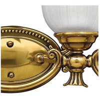 Hinkley 5584BB Francoise 4 Light 31 inch Burnished Brass Bath Light Wall Light alternative photo thumbnail