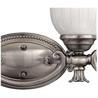Hinkley 5584PL Francoise 4 Light 31 inch Polished Antique Nickel Bath Light Wall Light alternative photo thumbnail