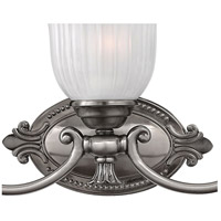 Hinkley 5585PL Francoise 5 Light 37 inch Polished Antique Nickel Bath Light Wall Light, globe only is 5 x 6 w  alternative photo thumbnail