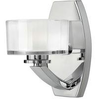Hinkley 5590CM-LED Meridian LED 7 inch Chrome Bath Sconce Wall Light