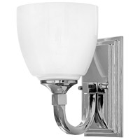 Hinkley 5600CM Faye 1 Light 6 inch Chrome Bath Sconce Wall Light
