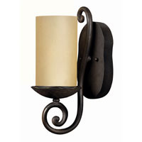 Hinkley Lighting Gold Hill 1 Light Bath Vanity in Olde Black 5640OL