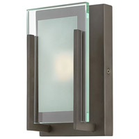 Hinkley 5650OZ-LED2 Latitude LED 5 inch Oil Rubbed Bronze Bath Sconce Wall Light