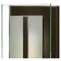 Hinkley 5651OZ Latitude 2 Light 6 inch Oil Rubbed Bronze Bath Sconce Wall Light, Clear Beveled Inside-Etched Glass alternative photo thumbnail