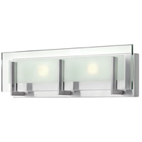 Latitude LED 18 inch Brushed Nickel Bath Light Wall Light