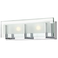 Hinkley 5652CM-LED2 Latitude LED 18 inch Chrome Bath Light Wall Light