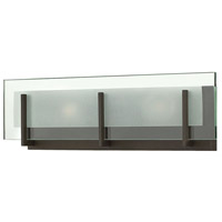 Latitude LED 18 inch Oil Rubbed Bronze Bath Light Wall Light