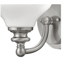 Hinkley 56550BN Ainsley 1 Light 8 inch Brushed Nickel Bath Sconce Wall Light alternative photo thumbnail