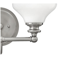 Hinkley 56552BN Ainsley 2 Light 16 inch Brushed Nickel Bath Light Wall Light alternative photo thumbnail