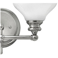 Hinkley 56552PN Ainsley 2 Light 16 inch Polished Nickel Bath Light Wall Light, Cased Opal Glass alternative photo thumbnail