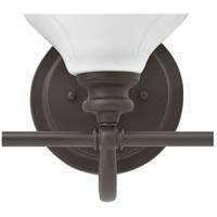 Hinkley 56553KZ Ainsley 3 Light 24 inch Buckeye Bronze Bath Light Wall Light, Cased Opal Glass alternative photo thumbnail