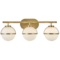 Hinkley 5663HB-LL Hollis LED 24 inch Heritage Brass Bath Light Wall Light