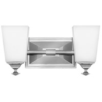 Baldwin 2 Light 14 inch Polished Nickel Bath Light Wall Light