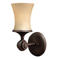 Thistledown 1 Light 6 inch Victorian Bronze Bath Vanity Wall Light