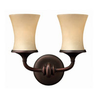 Hinkley Lighting Thistledown 2 Light Bath Vanity in Victorian Bronze 5682VZ photo thumbnail