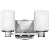 Hinkley 57132CM Tessa 2 Light 13 inch Chrome Bath Light Wall Light