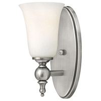 Hinkley 5740AN Yorktown 1 Light 5 inch Antique Nickel Bath Sconce Wall Light