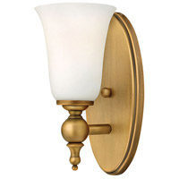Yorktown 1 Light 5 inch Brushed Bronze Bath Vanity Wall Light