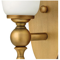 Hinkley 5740BR Yorktown 1 Light 5 inch Brushed Bronze Bath Sconce Wall Light alternative photo thumbnail